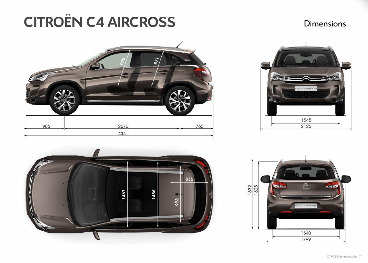 citro n c4 aircross auto slav k citro n pod brady. Black Bedroom Furniture Sets. Home Design Ideas